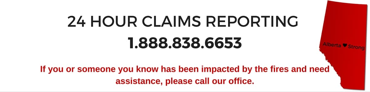 24 Hour Claims Reporting 1-888-838-6653