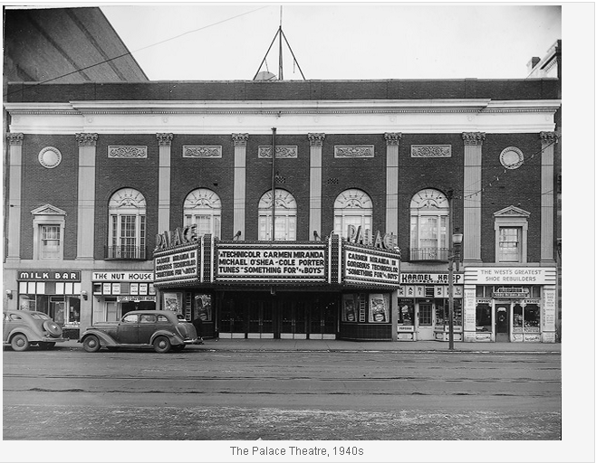 The Palace Theatre 1940