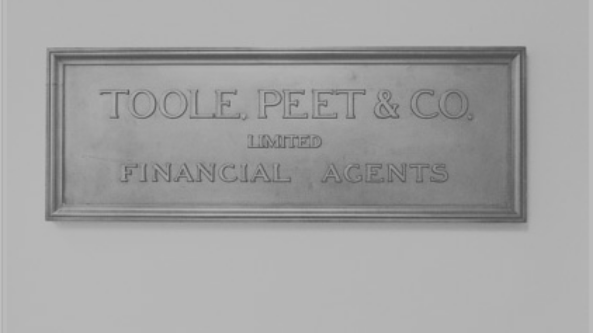 Old Toole Peet Sign Image