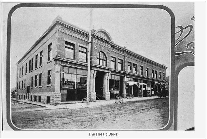 Picture of the herald block