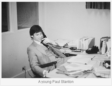 A Young Paul Stanton at Toole Peet Insurance