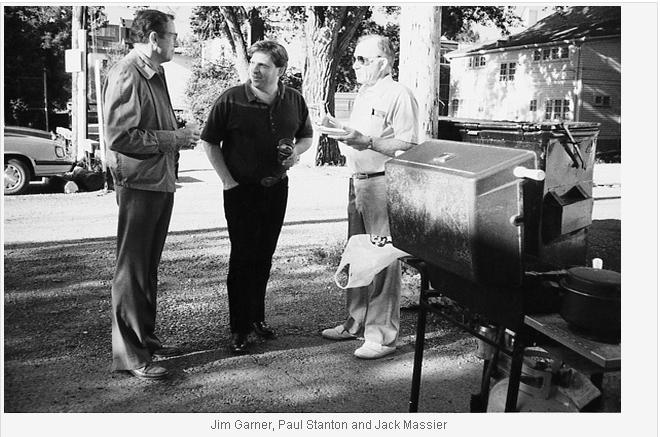Jim Garner, Paul Stanton and Jack Massier