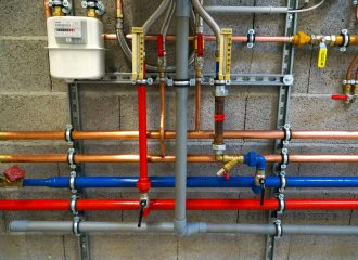 plumbing pipes and tubing