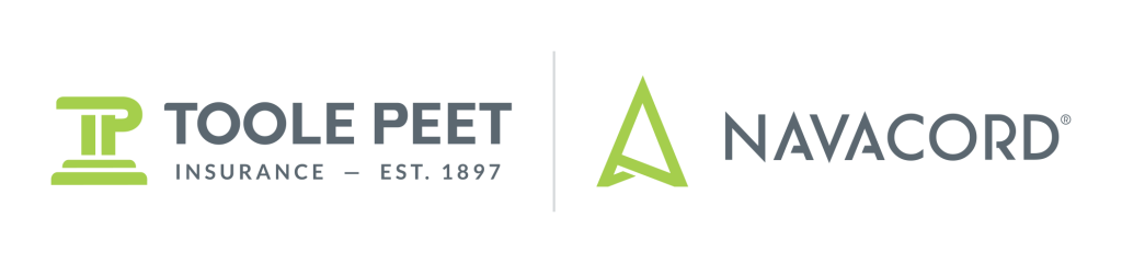 Toole Peet Navacord grey and green logo