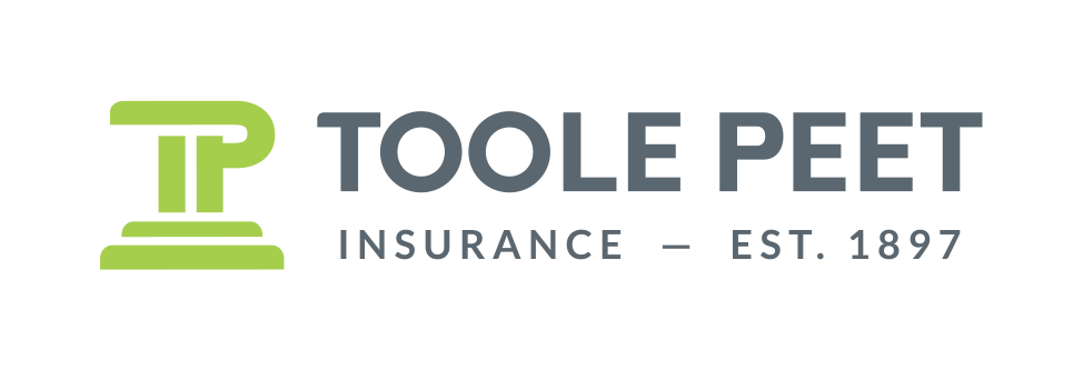 Toole Peet Standalone logo Green and Grey
