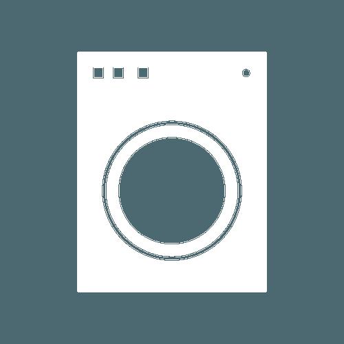 white dryer icon