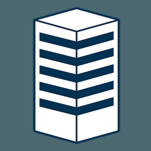 White building icon